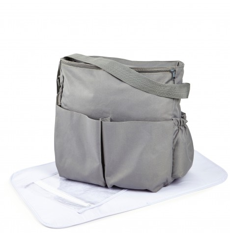Clair De Lune Sailsbury Changing Bag - Grey