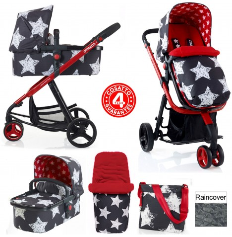 Cosatto Giggle 2 Combi 3 in 1 Pushchair - Hipstar