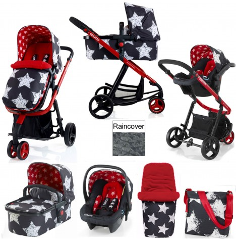 Cosatto Giggle 2 Combi 3 in 1 Travel System - Hipstar