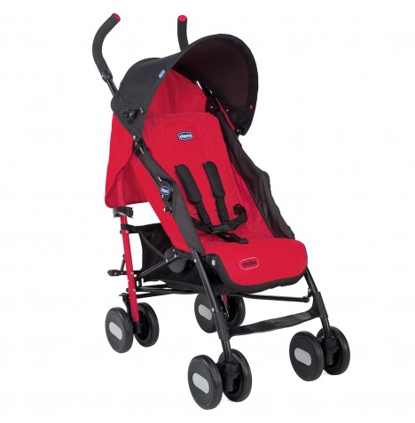Chicco Echo Pushchair Stroller - Garnet