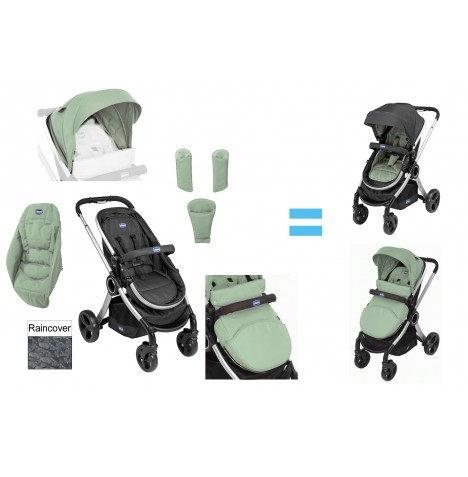 Chicco Urban Stroller Special Edition Colour Pack - Summer Nature