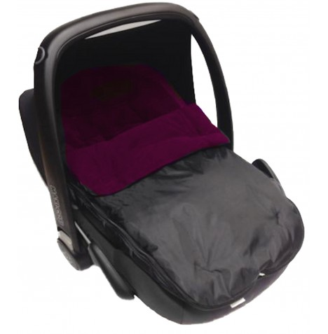 4Baby Shower Proof Fleece Car Seat Footmuff - Purple