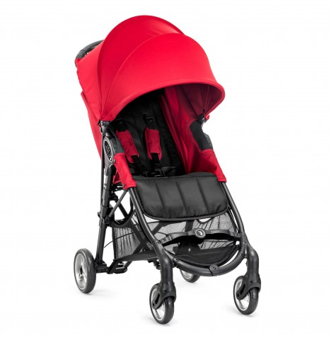 Baby Jogger City Mini Zip Single Stroller - Red