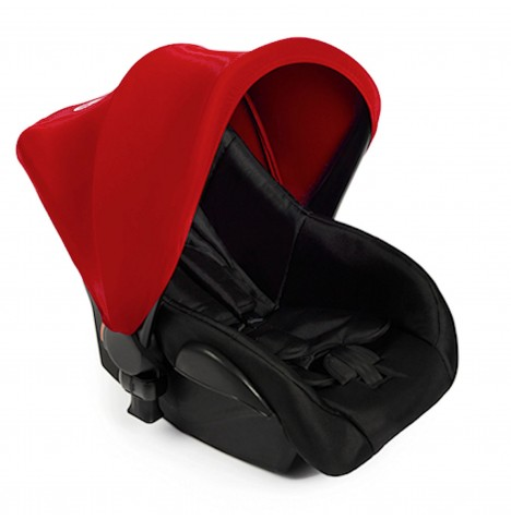 Ickle Bubba Stomp V2 Group 0+ Infant Carrier Car Seat - Red
