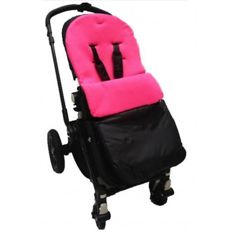 4Baby Shower Proof Fleece Pushchair Footmuff - Fuchsia