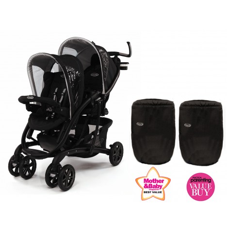 Graco Quattro Tour Duo Tandem Double Stroller - Sport Luxe