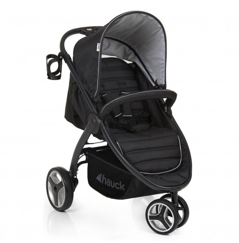 Hauck Lift Up 3 Jogger Pushchair Stroller - Black