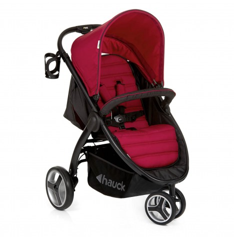 Hauck Lift Up 3 Jogger Pushchair Stroller - Chilli