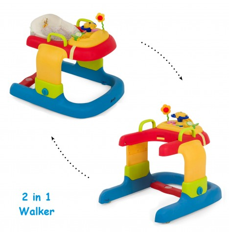 Hauck Disney 2 in 1 Baby Walker - Pooh Ready To Play