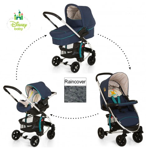 new hauck disney pooh ready to play miami 4 trio set travel system. Black Bedroom Furniture Sets. Home Design Ideas