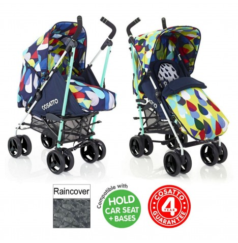 Cosatto To & Fro 2in1 Pram / Pushchair - Pitter Patter