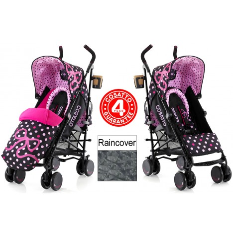 Cosatto Supa Pushchair Stroller - Bow How