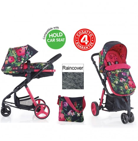 Cosatto Woop 2in1 Pram / Pushchair - Tropico