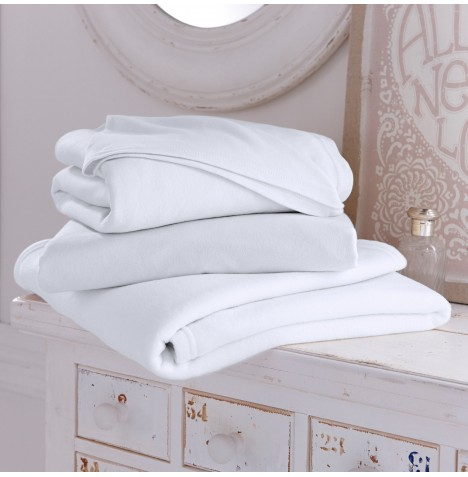 Clair De Lune 3 Piece Pram / Crib Sheet & Blanket Set - White