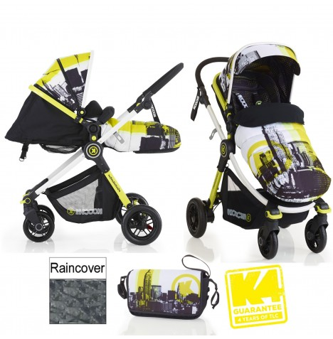 Koochi Litestar 2in1 Pram / Pushchair - Brooklyn AM