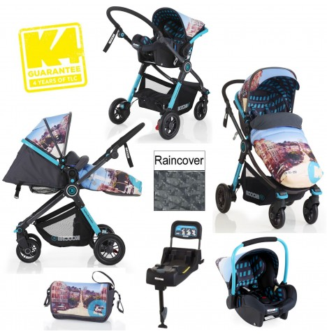Cosatto Koochi Deluxe Litestar Travel System Package - San Fran