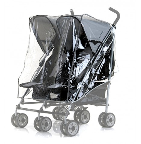 Universal Hauck Turbo Duo Double Twin  Stroller Raincover