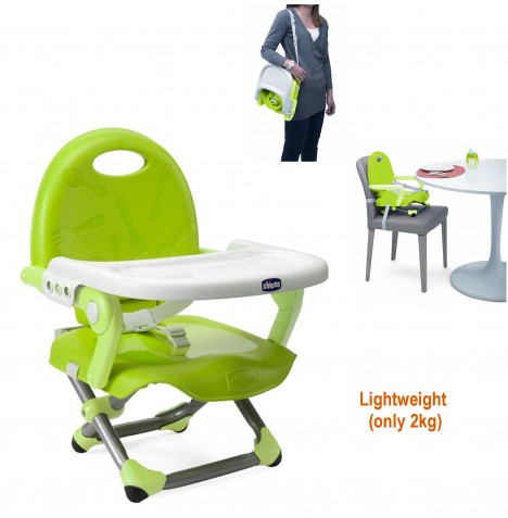 Chicco Pocket Snack Booster Seat - Lime..