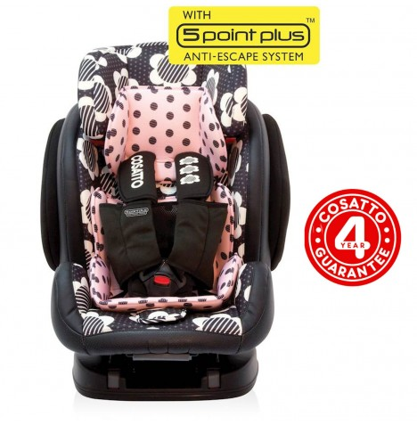 Cosatto Hug Group 123 ISOFIX Car Seat - Daisy Dot