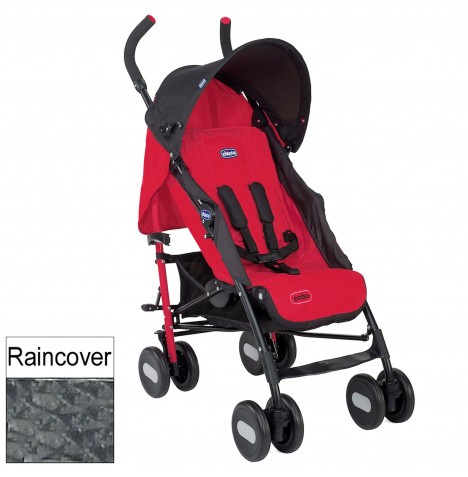 Chicco Luxury Echo Pushchair Stroller - Garnet..