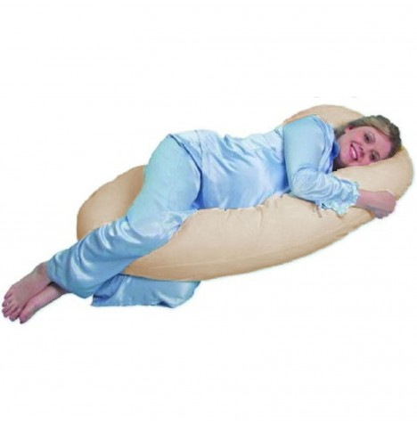 4baby 9ft Cuddle Me Body & Baby Support Pillow - Cream