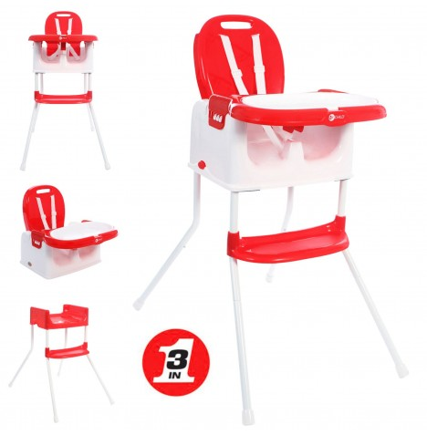 My Child Graze 3in1 Highchair - Red