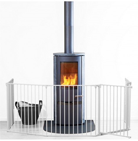 Babydan XL Hearth / Configure Gate - White