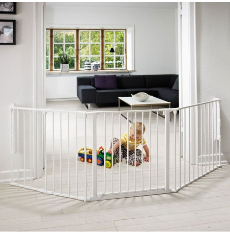 Babydan Large Configure Gate - White