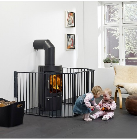 Babydan XL Hearth / Configure Gate - Black