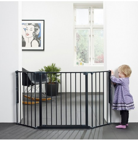 Babydan Medium Configure Gate - Black