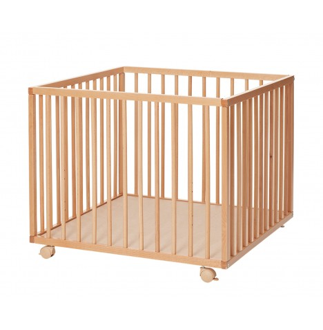 Babydan Comfort Wooden Playpen - Natural