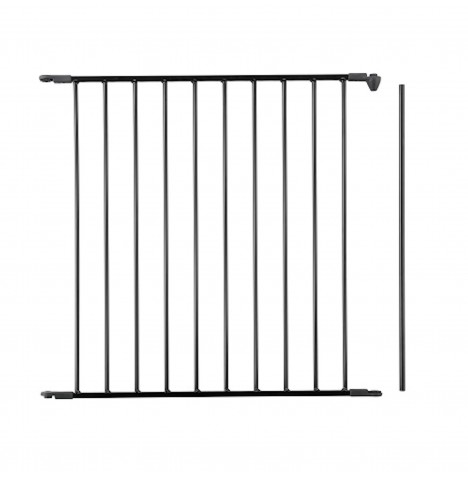 Babydan Configure Gate / Babyden Extension 72cm - Black