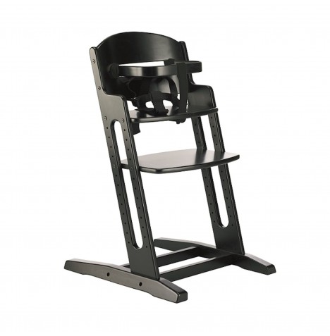 Babydan Danchair Wooden Highchair - Black