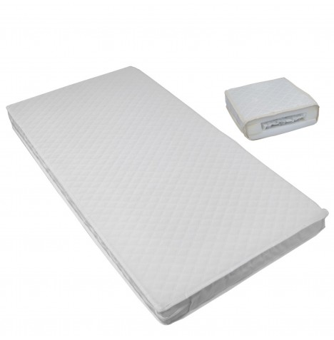 Tutti Bambini Pocket Sprung Cot Bed Safety Mattress 140 x 70cm
