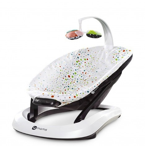 4moms BounceRoo Baby Bouncer - Multi Plush
