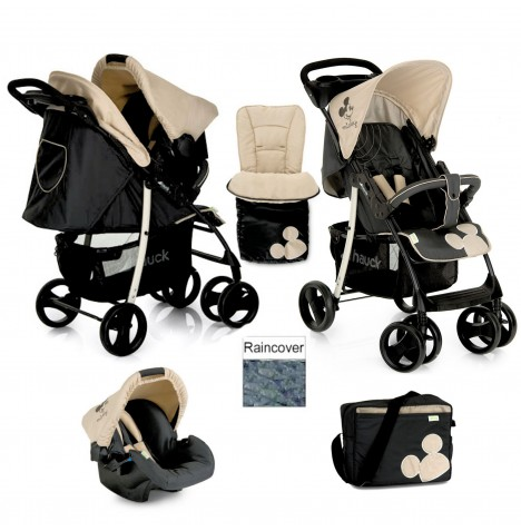 Hauck Disney Shopper Shop n Drive Travel System - Classic Mickey