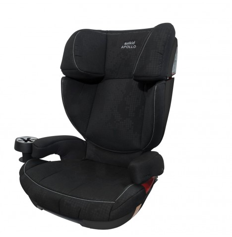 AxKid Apollo Group 2 / 3 Isofix Car Seat Booster - Black