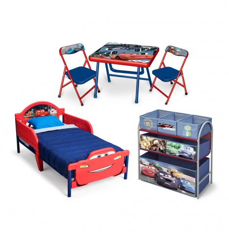 Delta Children 3 Piece Room Set - Cars
