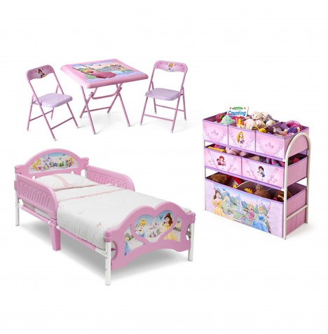 Delta Children 3 Piece Room Set - Princess