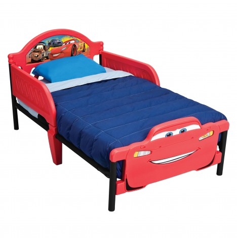 Delta children disney pixar cars junior toddler starter for Starter bed