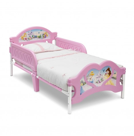 Delta Children Toddler Bed With 3D Footboard - Disney Princess