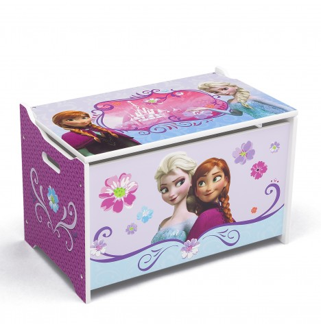 Delta Children Wooden Toy Box - Disney Frozen