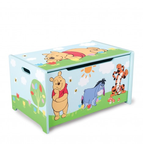 Delta Children Wooden Toy Box - Disney Winnie The Pooh