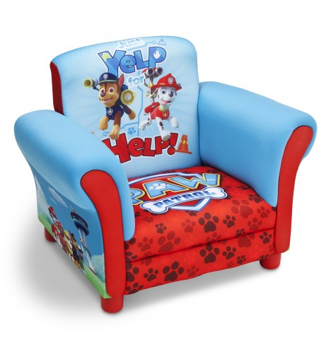 Delta Children Upholstered Chair - Paw Patrol