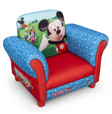 Delta Children Upholstered Chair - Disney Mickey Mouse