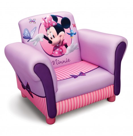 Delta Children Upholstered Chair - Disney Minnie Mouse