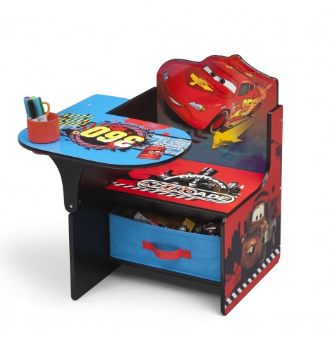 Delta Children Disney Cars Chair Desk With Storage Bin