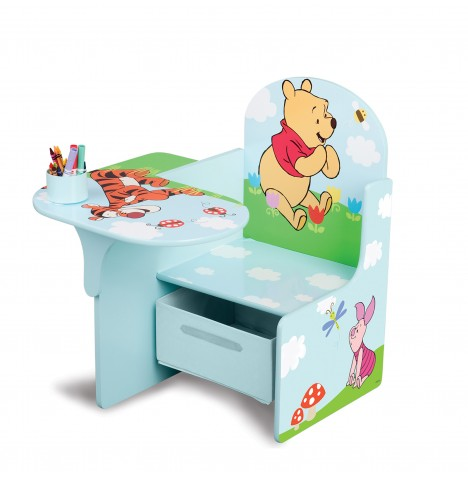 Delta Children Chair Desk With Storage - Disney Winnie The Pooh