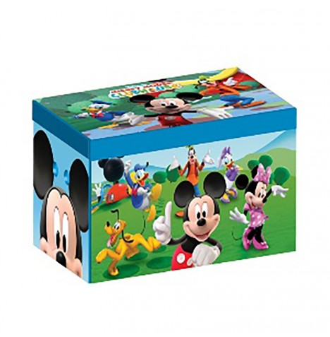 Delta Children Collapsible Fabric Toy Box - Disney Mickey Mouse