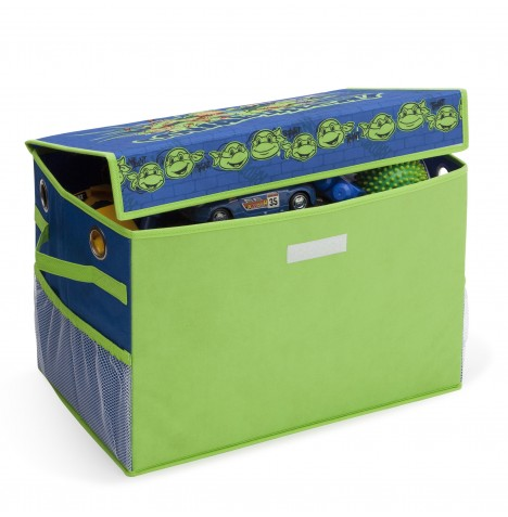 Delta Children Collapsible Fabric Toy Box - Teenage Mutant Ninja Turtles